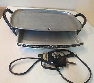 Farberware 260 Electric Griddle/Skillet Warming Tray Perfect Heat Control