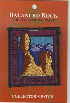 Arches National Park, Utah - Balanced Rock Souvenir Patch