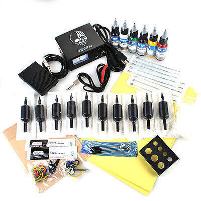 Tattoomaschine Komplett Set Tattoo Kit 2 Maschine Tätowierung