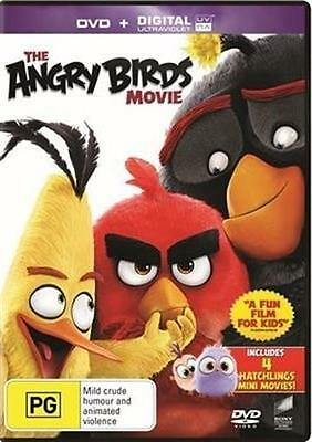 ANGRY BIRDS MOVIE, THE DVD/ Ultraviolet NEW