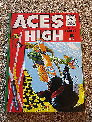 Aces High Hc Ec Comics 1998 From New Direction Slipcover Set Very Rare Coll 1-5