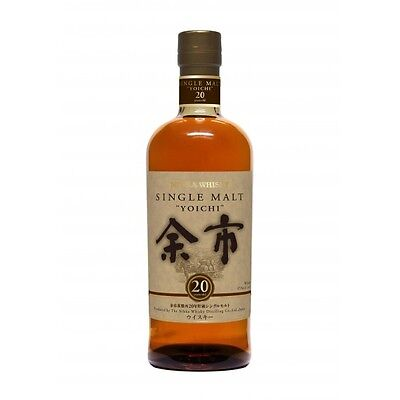 Nikka Yoichi 20 Year Old Japanese Single Malt Whisky 700ml