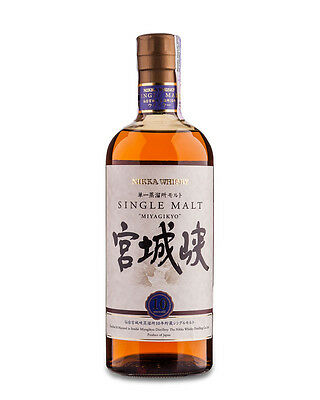 Nikka Miyagikyo 10 Year Old Japanese Single Malt Whisky 700ml