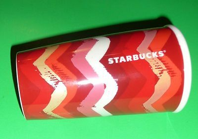 Starbucks Ceramic Coffee Tea Hot Drink Tumbler with 2 Silicon Sip Tops NEW