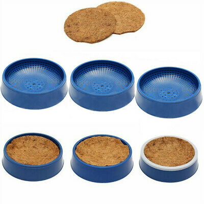 Blue Pigeon Supplies Plastic Dehumidification Bird Egg Basin Nest Bowl Grass Mat