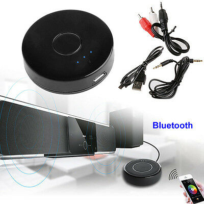 Bluetooth Transmitter Audio Wireless Adapter 3.5mm Jack For TV MP3 Stereo iPod