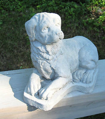 Concrete  Rottweiler Dog  Statue  / Or Use As A  Memorial, Pet  Grave Marker