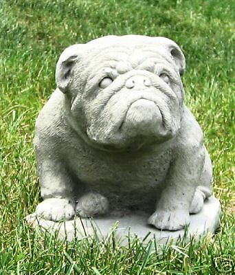 Concrete Bulldog Statue Or Use As A Monument