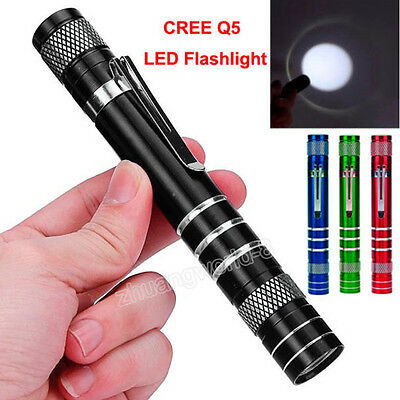 Mini 1200Lumen Fackel Taschenlamen Cree Q5 LED taktisch Flashlight AA Lamp Light
