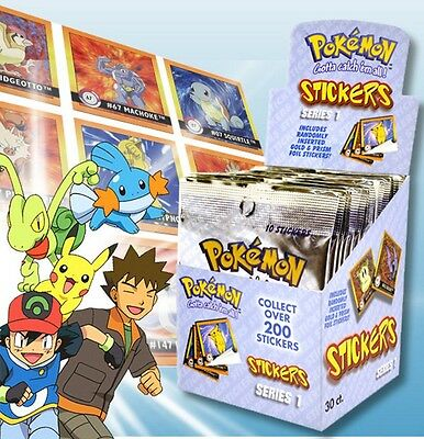Pokemon Sammelsticker Auswahl: Display, Starterset(mit Album), Booster - NEU&OVP