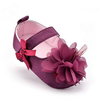 Beautiful Flowers Soft-soled Baby Toddler Skid Resistance Comfortable Kids Shoes