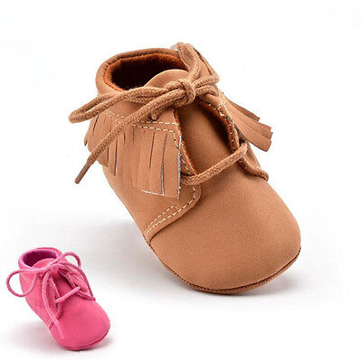 Hot Style Tassel Lace-up Baby Toddler Shoes Kids Shoes Soft Bottom Infant Shoes