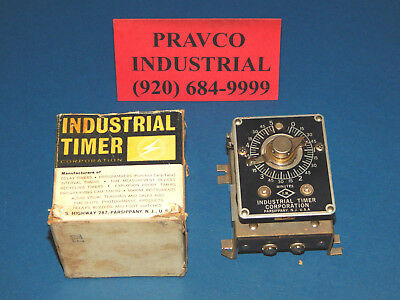 Industrial Timer Corp. CSF-5M Industrial Timer 5 Minute 115V 60Hz 15W CSF5M