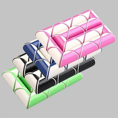 24-Part Foldable Color Twisty Snake Magic Ruler Shape Cube Puzzle Toy Gift