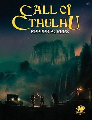 Call of Cthulhu 7 Edition KEEPER SCREEN schermo