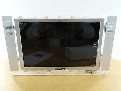 "New  - AMP'D 11"" Digital Television - Clear #51105"