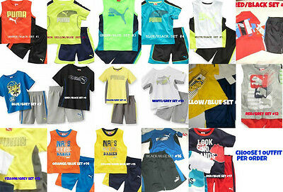* NWT NEW BOYS 2PC ADIDAS SHIRT SUMMER OUTFIT SET SIZE 12M 18M WOW!