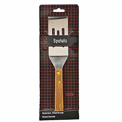 Chef Craft 20285 Slotted Cookie Spatula, Stainless Steel, 8 In Wood