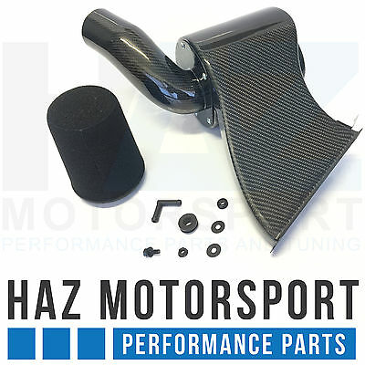 Carbon Fibre Intake Induction Kit Air Filter System VW Golf Mk7 R/GTI Audi S3 8V
