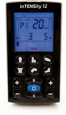 2nd Generation InTENSity 12 - Rechargeable TENS Unit with 12 Preset Body Icons