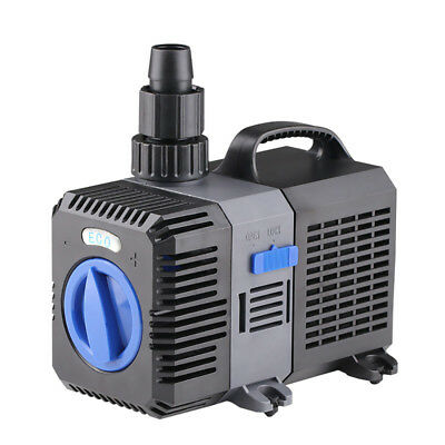 8000LPH Submersible Aquarium Fountain Pond Eco Adjustable Water Pump Fish Tank