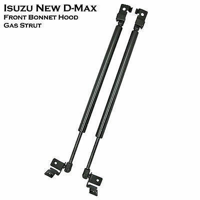 Front Hood Bonnet Gas Shock Strut Damper Lift Supports For Isuzu D-Max Dmax 12++