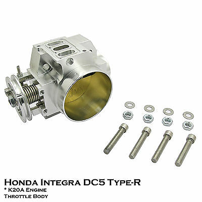 70mm Aluminium Throttle Body Fit Honda Acura Integra DC5 Type R 02-06 2.0L K20A