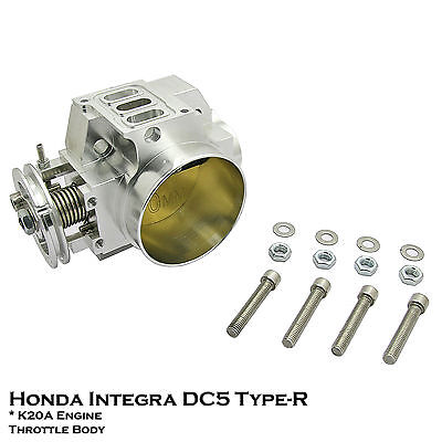 70mm Racing Throttle Body Fit Honda Acura Integra DC5 Type R 02-06 2.0L K20A