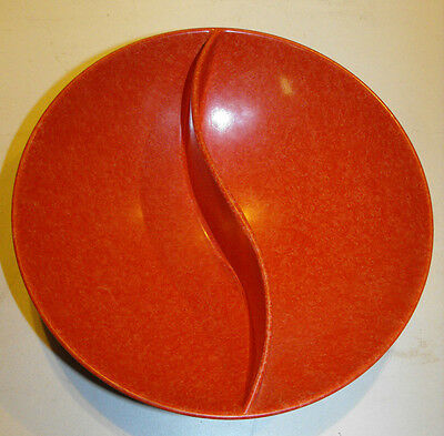 Rare Vintage Melmac Melamine Snack Bowl By Maplex Great Colour and Condition