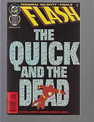 The Flash #100 - The Quick And The Dead - DC Comics - 1995