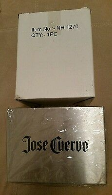 Stainless Steel Jose Cuervo Tequila Napkin/straw Despenser/ Holder