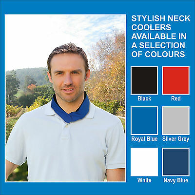 Neck Cooler / Body Cooler / Neck Wrap / Beat the Heat / Royal Blue Cooler scarf