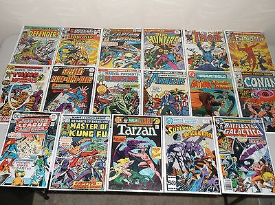 Bronze Age Comics (Lot of 51) Marvel & DC Only, Great Mix 1970s - early 80s  (6)