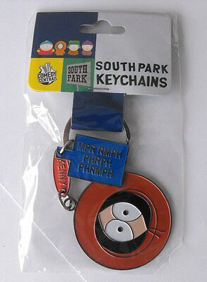 VERY Rare SOUTHPARK Kenny Metal Keychain  MINT in bag 2001
