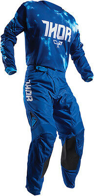 Completo Ragazzo Cross Thor Youth Pulse Air Tydy S7 Offroad Blues