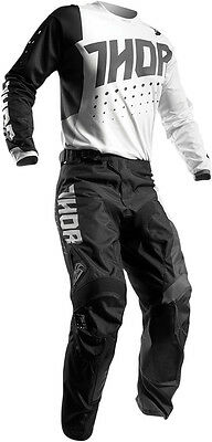 Completo Ragazzo Cross Thor Youth Pulse Aktiv S7 Offroad White/black