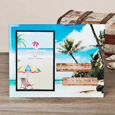 Life is Better at the Beach glass frame 4x6 - Gift Favors / FC-12131