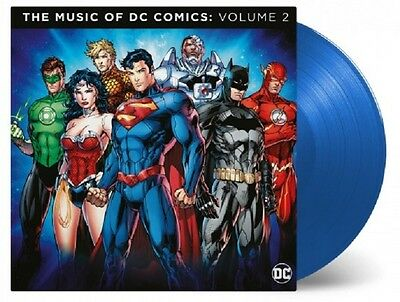 THE MUSIC OF THE DC COMICS 2 - OST - 2LP / Blue Vinyl - Limited 1000 (Junkie XL)