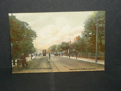 Norfolk - Dereham Road Norwich - c.1910