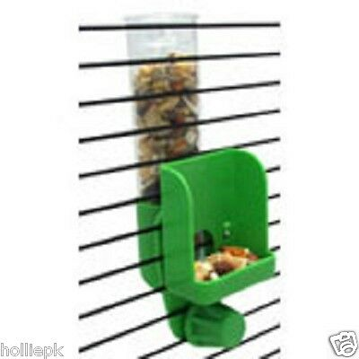 Jw Budgie Canary Finch Bird Clean Seed Silo Feeder Fits Cage