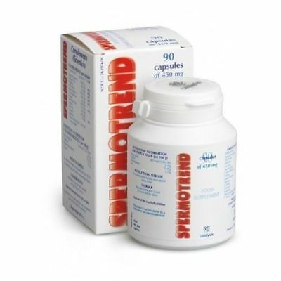 SPERMOTREND - Supplement - Male Infertility - 90caps x 450 mg - Free Shipping