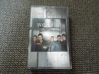 Westlife World Of Our Own RARE Cassette Single