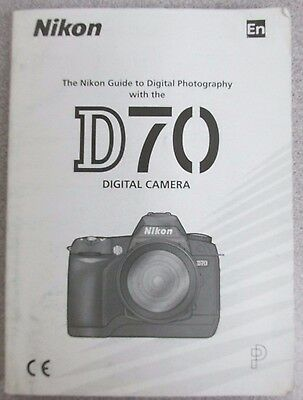 user guide nikon d70 dslr digital camera instruction manual rh picclick com Pictures Taken with Nikon D300 Nikon D300 vs D7000