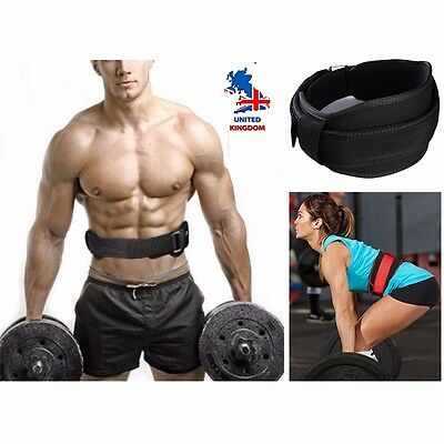 CFR Nylon EVA Weight Lifting Squat Belt Lower Back Support Fitness Training PT