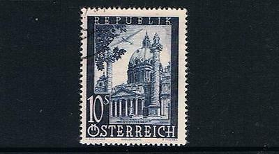STAMPS   from  AUSTRIA  1948  AIR SET  10s  (FU)  lot A 270