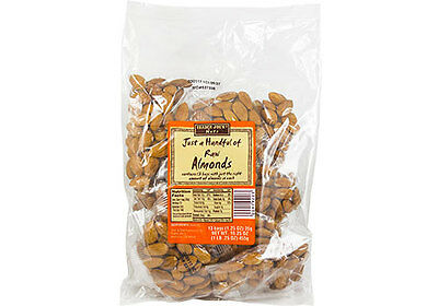 Trader Joe's Just A Handful of Roasted Unsalted Almonds-16.25oz (1lb.25oz)
