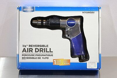 "Hyundai HPT-AD-1 Reversible 3/8"" Air Pneumatic Drill 1800 RPM"