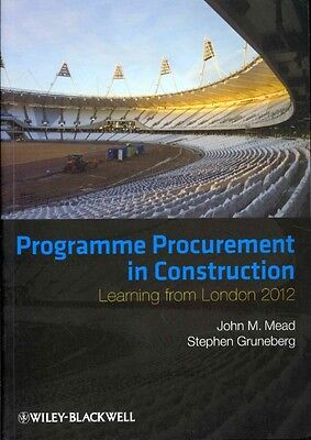 Programme Procurement in Construction by John Mead Paperback Book (English)