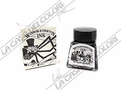 WINSOR & NEWTON - BLACK INDIAN INK - 14 ml