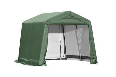 Shelterlogic Outdoor Boat Car Storage Green Shelter 10' x 8' x 8'  / Model 72804